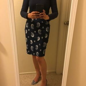 ✨ NWT ✨ the Limited Pencil Skirt, floral paisley
